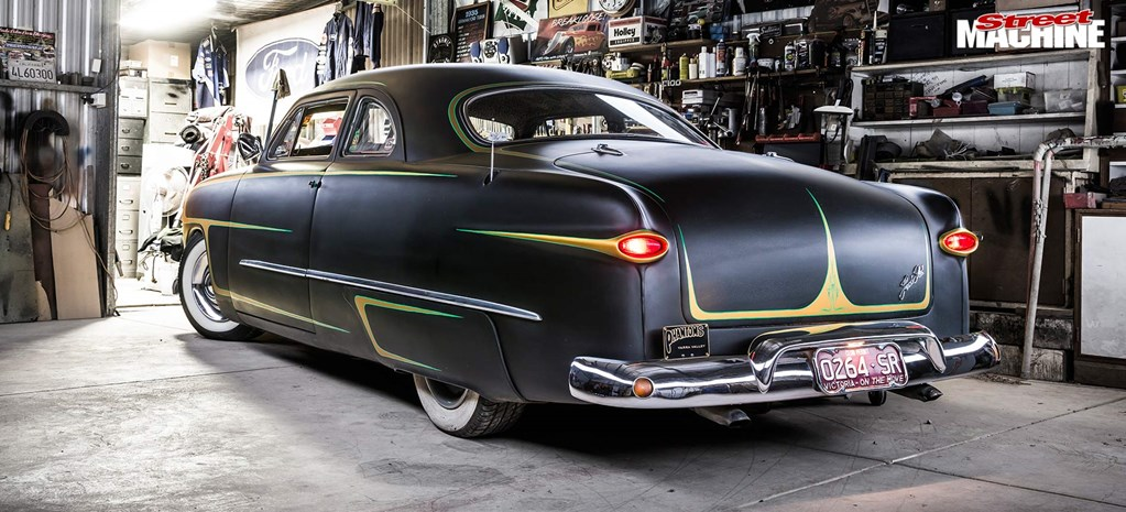 CHOPPED CUSTOM 1949 FORD CLUB COUPE
