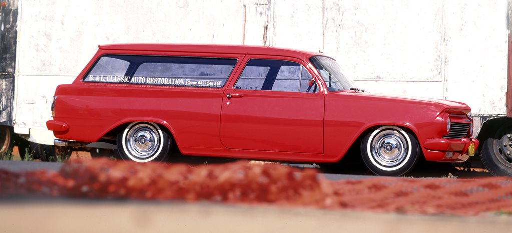 EH Holden sedan delivery w