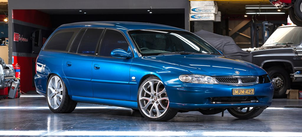 Holden VX Berlina wagon LS turbo w