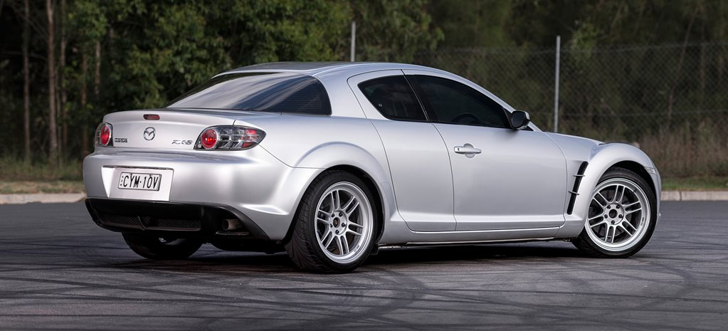 6 0-litre LS-swapped Mazda RX-8