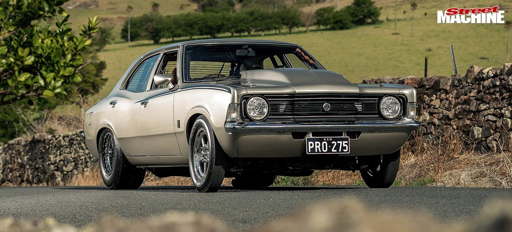 Twin-Turbo Seven-Second 1974 Ford TD Cortina Streeter