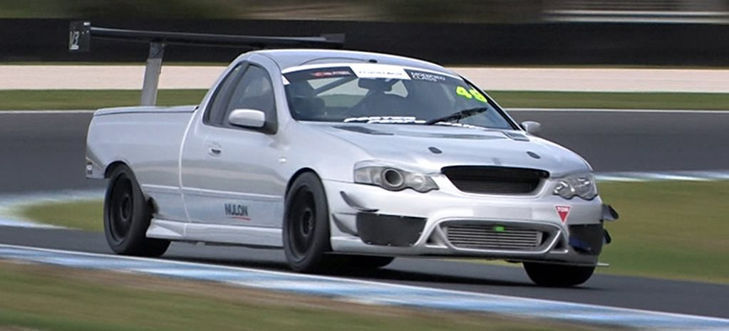 BA Falcon Ute time attack w