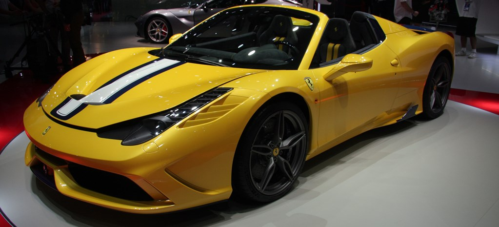 Ferrari 458 Speciale A makes powerful entrance