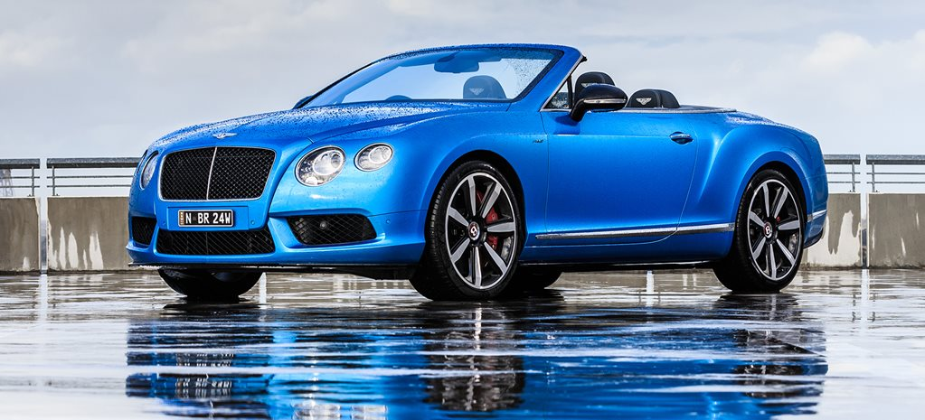 Bentley Continental GTC V8 S Review