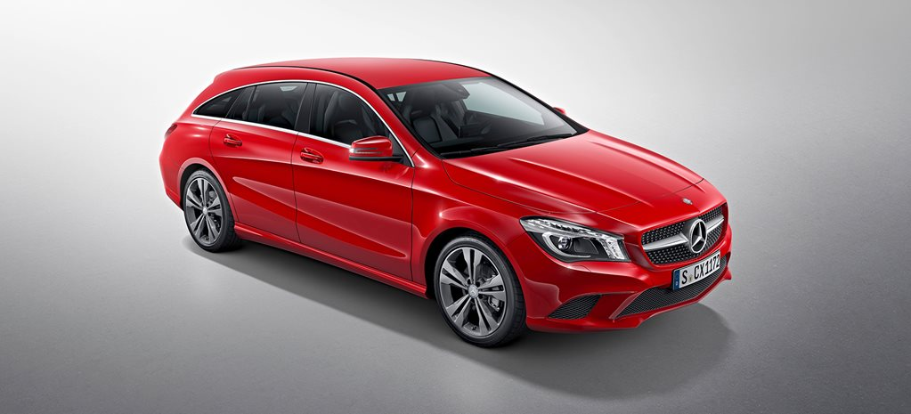 Mercedes-Benz CLA Shooting Brake breaks cover