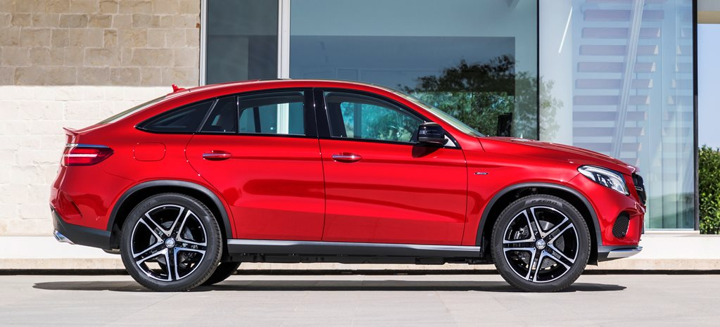 Mercedes-Benz GLE Coupe first official pictures