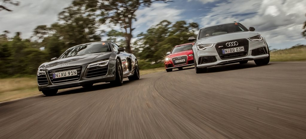 Audi celebrates 20 years of RS