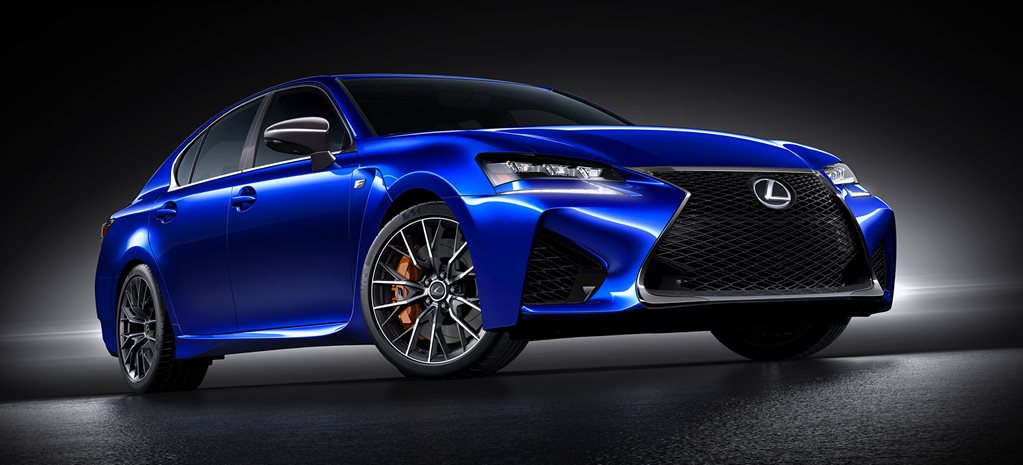 Detroit Motor Show: Lexus GS F first official pictures