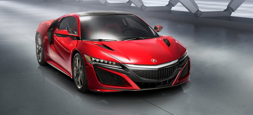 Detroit Motor Show: Honda NSX, the car about nothing