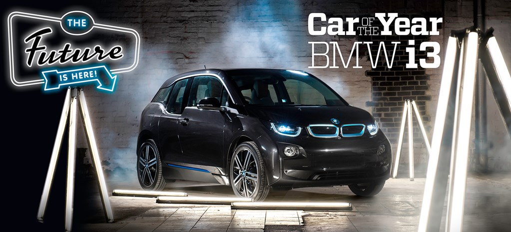 BMW i3 - Wheels Car of the Year 2014