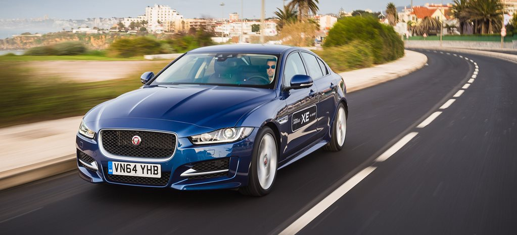 Jaguar XE pre-production prototype drive