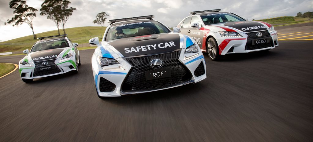 Lexus reveals V8 Supercars pace car