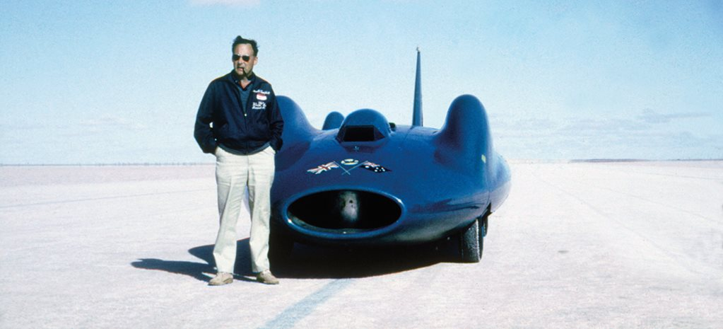 Classic Wheels: Donald Campbell and his Bluebird car world speed record
