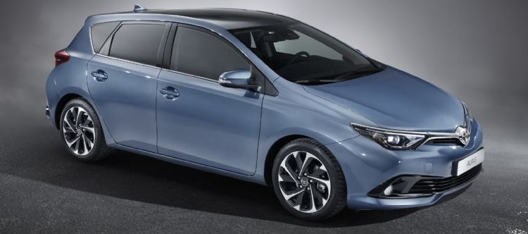 2015 Geneva Motor Show: Toyota Corolla first official pics