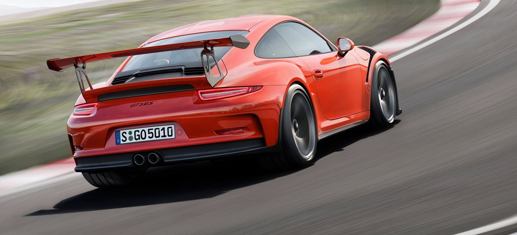 2015 Geneva Motor Show: Porsche 911 GT3 RS revealed