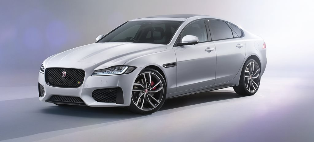 2016 Jaguar XF first official pictures