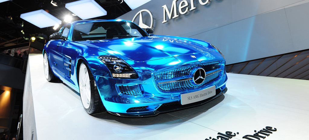 Electric future for Mercedes-Benz