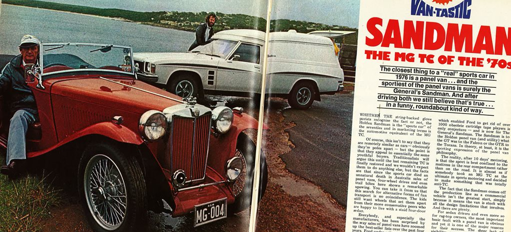 Van-tastic Sandman: The MG TC of the '70s