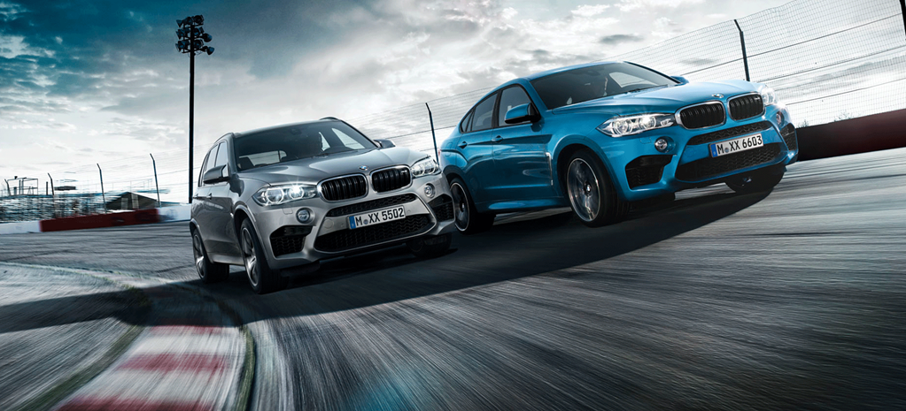 BMW X5 M & X6 M in action