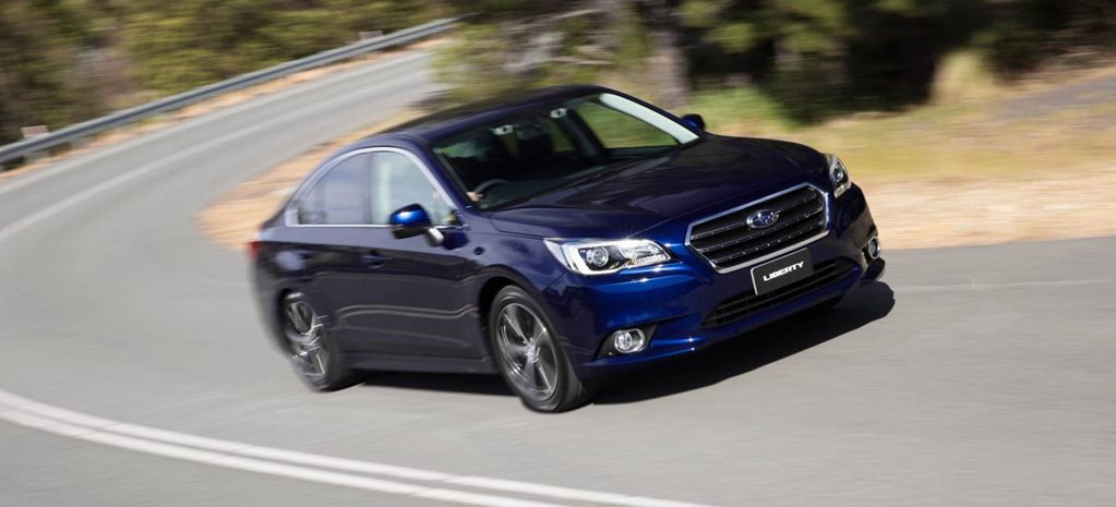 2015 Subaru Liberty 2.5 review