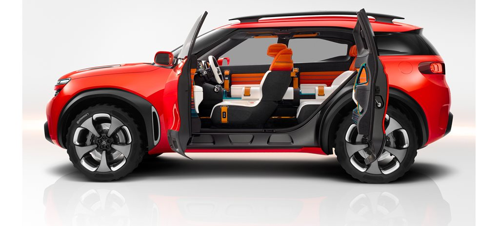 Citroen Aircross first official pictures