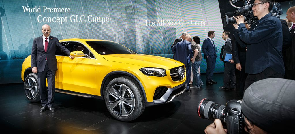 Mercedes GLC Coupe first official pictures