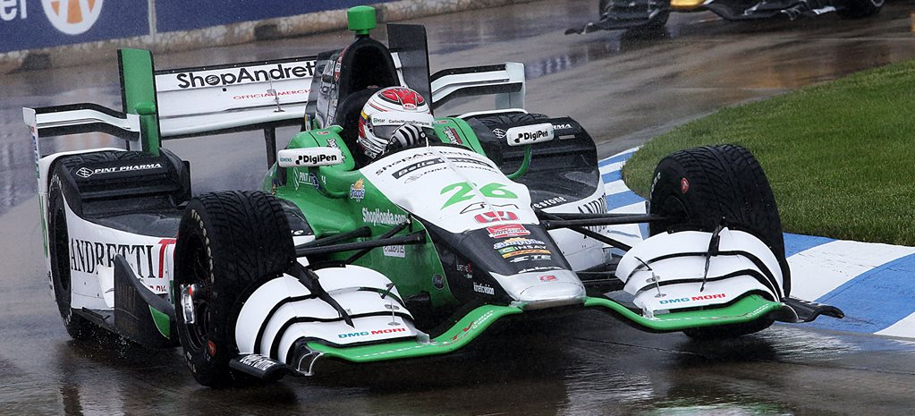 Wet and wild Belle Isle IndyCar springs a surprise