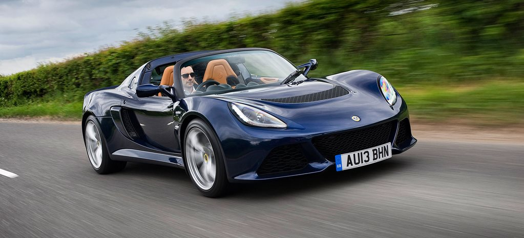 2015 Lotus Exige S roadster automatic review