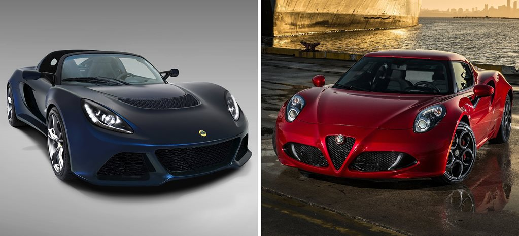Head2Head: Lotus Exige S vs Alfa Romeo 4C