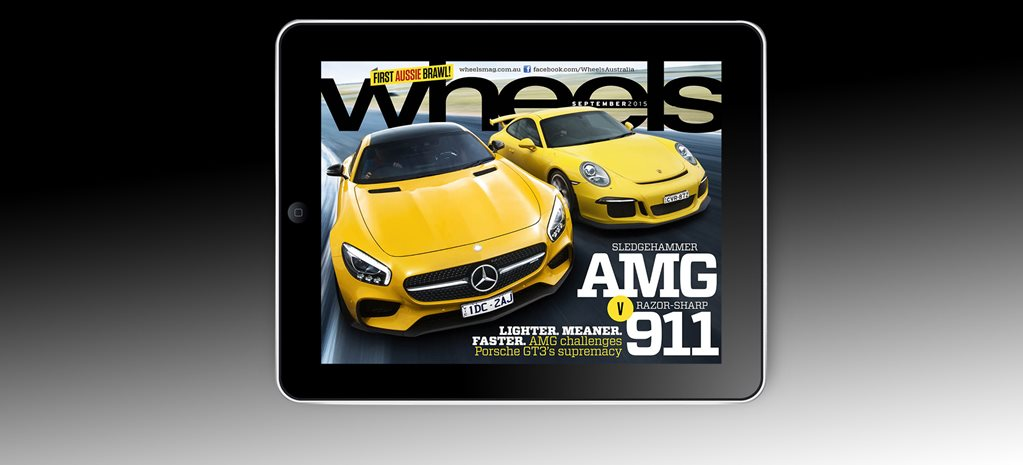 Inside Wheels September 2015, on sale now