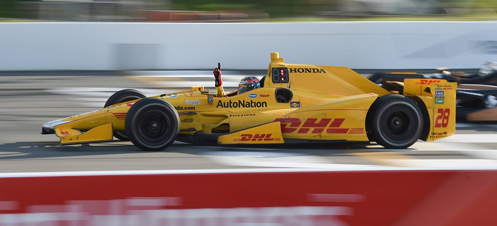 Fears for IndyCar driver struck by debris