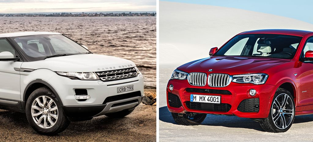 Head to Head: Range Rover Evoque vs BMW X4