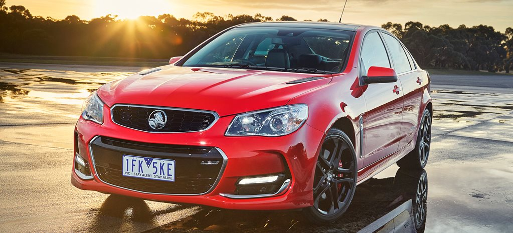 V8 play: Holden Commodore VF Series II unveiled