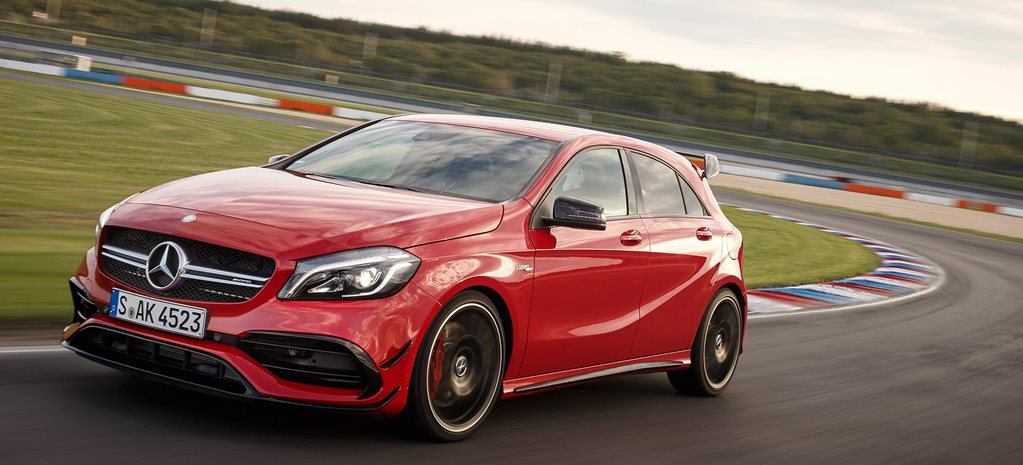 2016 Mercedes-Benz A45 AMG review