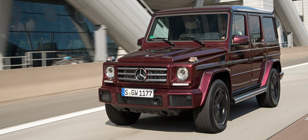2016 Mercedes-Benz G500 review