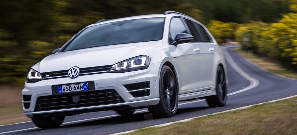 2015 Volkswagen Golf R wagon Wolfsburg Edition review