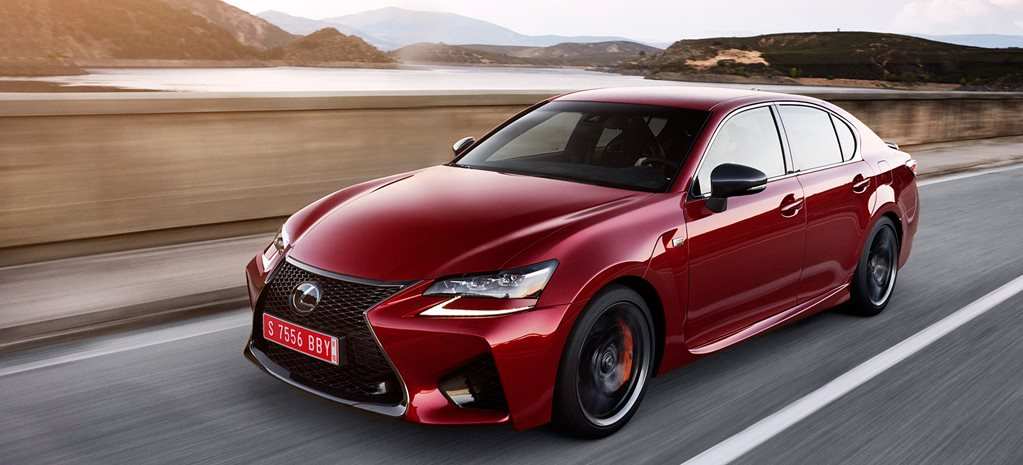 2015 Lexus GS F review