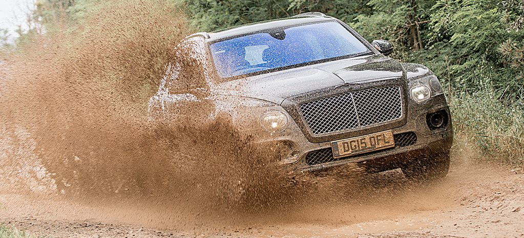 Social climber: Bentley Bentayga aims for the top SUV spot