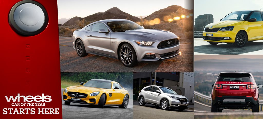 The road to 2016 Wheels Car of the Year