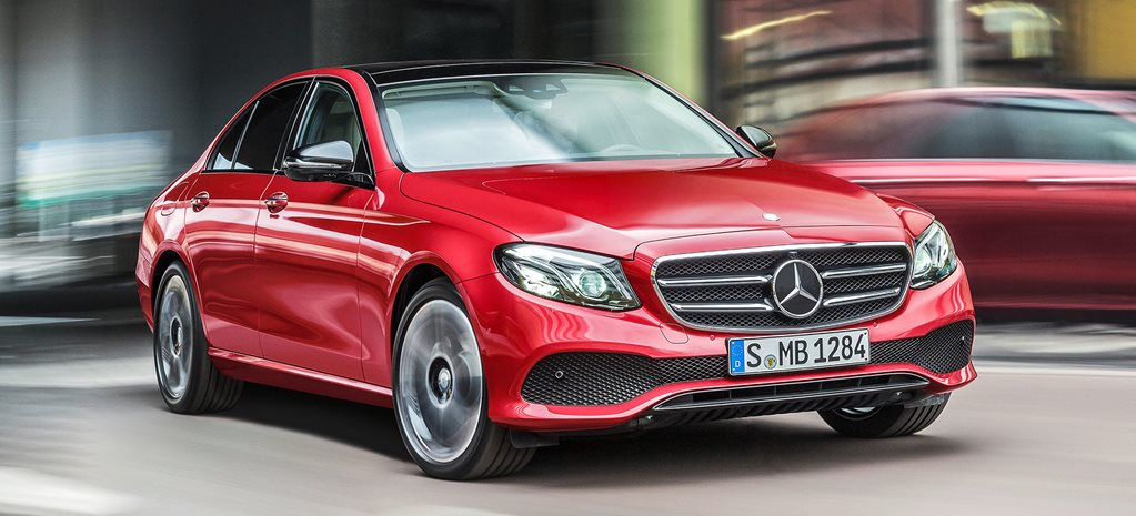 2016 Detroit Motor Show: Mercedes-Benz E-Class revealed