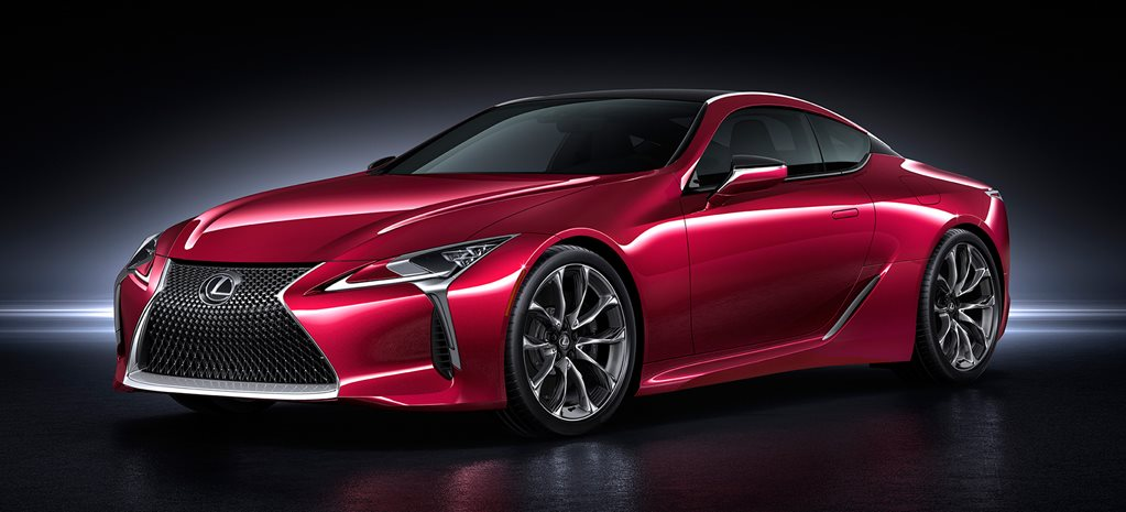 2016 Detroit Motor Show: Lexus LC 500 revealed