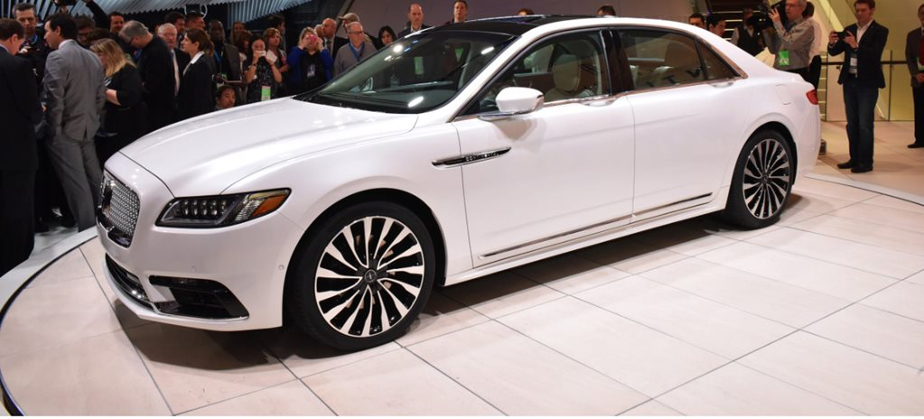 2016 Detroit Motor Show: Australian designs 2017 Lincoln Continental