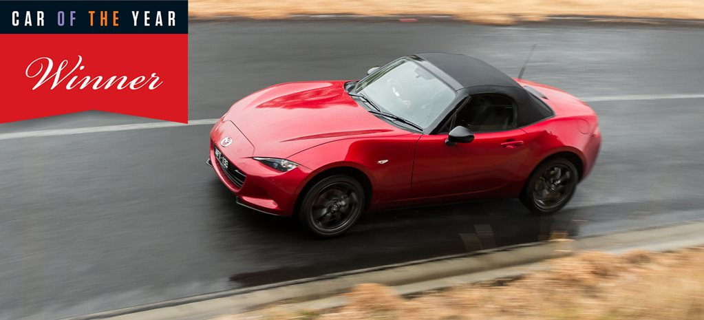 2016 Wheels Car of the Year winner: Mazda MX-5