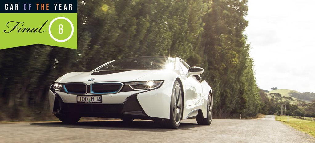 2016 Wheels Car of the Year finalist: BMW i8