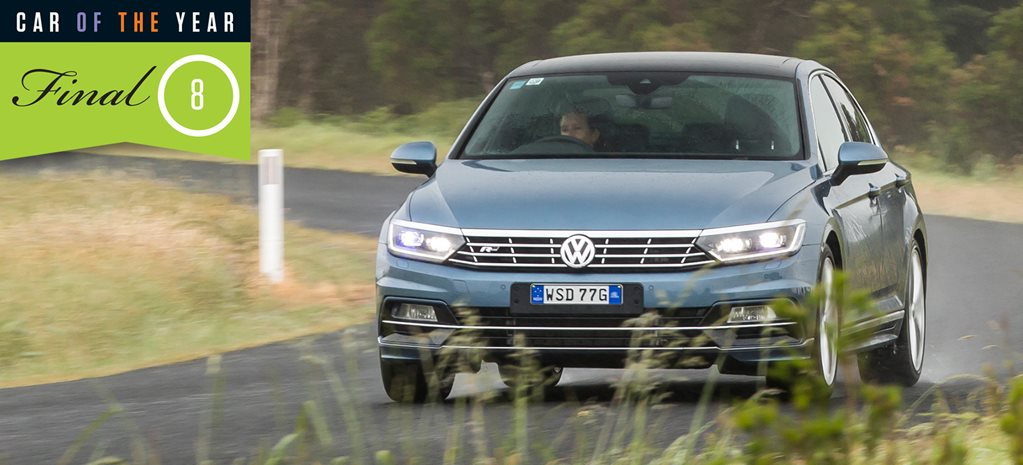 2016 Wheels Car of the Year finalist: Volkswagen Passat