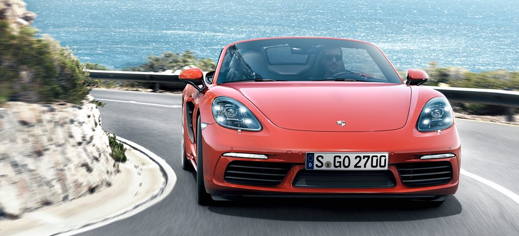 Porsche Boxster 718: new turbo four-cylinders