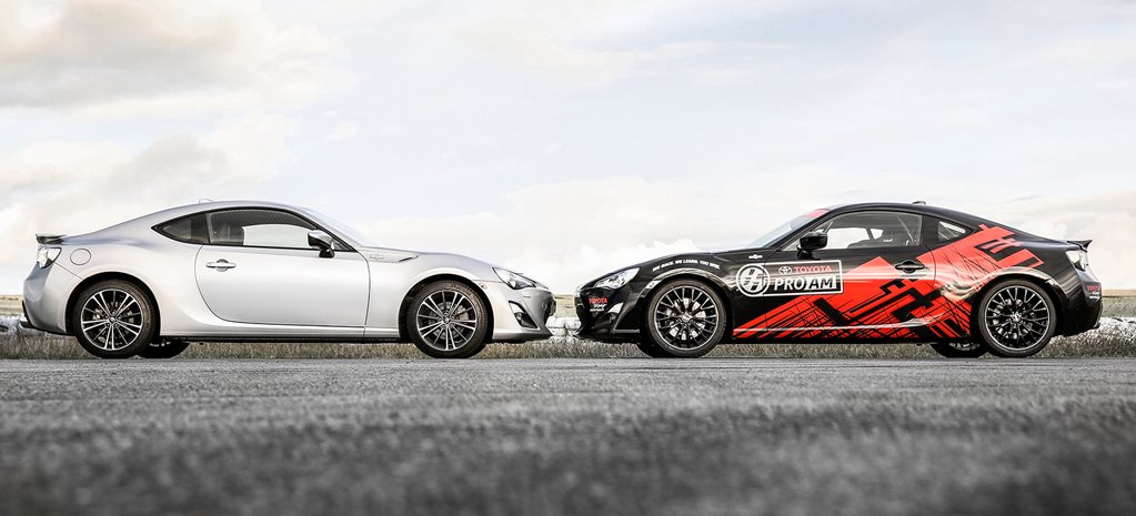 Toyota 86 GTS v Toyota 86 race car comparison review