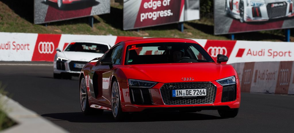 2016 Audi R8 V10 Plus review