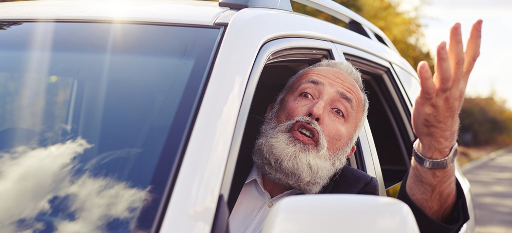 Elderly drivers are speeding past youth – it's an outrage!