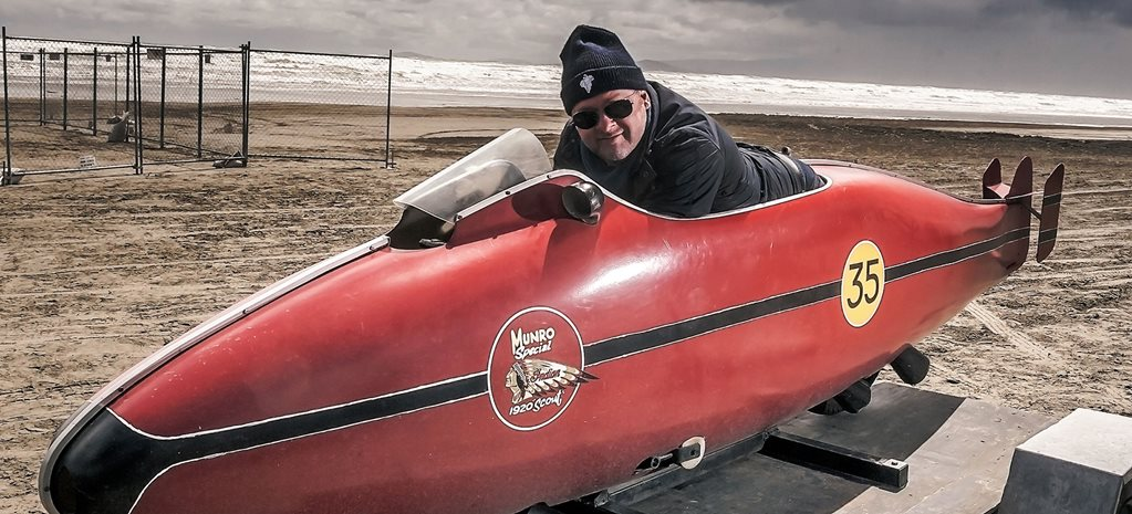 Burt Munro and the world's fastest Indian